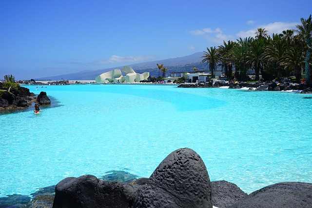 tenerife sea-water-swimming-pool-